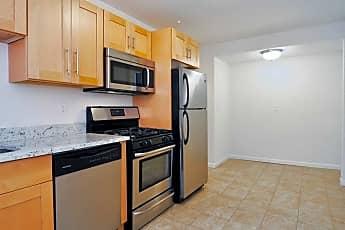 Kitchen, Elmcrest Apartments, 2