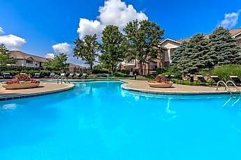 Pool, Creekside Apartments, 1