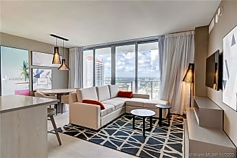 Living Room, 4010 S Ocean Dr R2106, 0