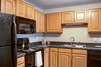 Kitchen, Cityscape Apartments, 0