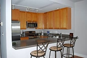 Kitchen, 1111 West Madison Street, Unit 4C, 1