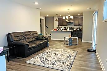 Living Room, 8039 Abercrombie Ln, 0