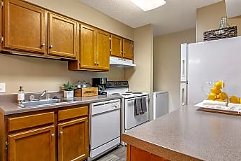Kitchen, High River Apartment Homes, 0