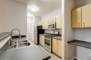 Kitchen, Capitol Place, 1