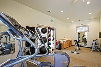 Fitness Weight Room, Fallingbrook Townhome Apartments, 1
