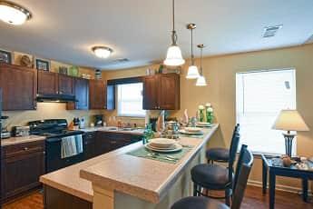 Kitchen, Oak Manor Villas Portland, 0