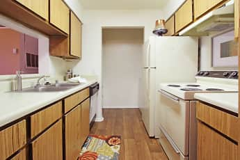 Kitchen, Aviare Place Apartments, 1