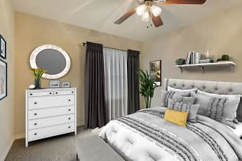 Bedroom, The Gables of McKinney Apartments, 2