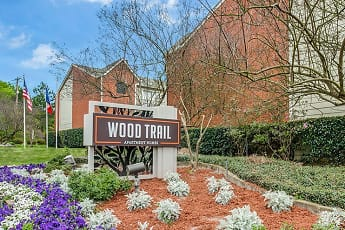 Community Signage, Wood Trail Apartments, 0