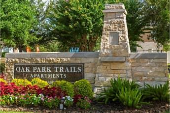 Community Signage, Oak Park Trails, 0