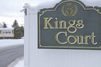 Community Signage, Kings Court, 2