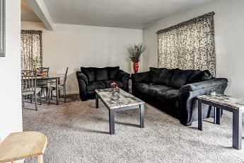 Living Room, Penn Garden Apartments, 0