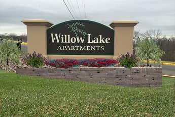 Community Signage, Willow Lake Apartments, 1