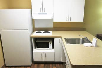 Kitchen, Furnished Studio - Providence - Warwick, 1