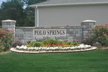 Community Signage, Polo Springs Apartments, 1