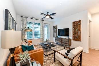 Living Room, Elevate West Village, 1