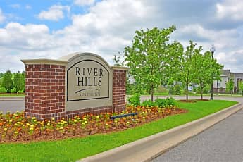 Community Signage, River Hills Apartments, 0