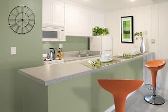 Kitchen, Rancho Los Feliz, 0