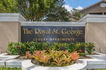 Community Signage, The Royal St. George, 2
