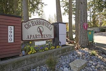 Community Signage, Gig Harbor Villa, 0