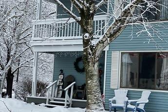 Patio / Deck, Fox Hill Apartments, 2