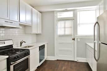 Kitchen, 1026 Washington Apartments, 0