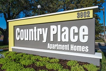 Community Signage, Country Place Apartments, 0