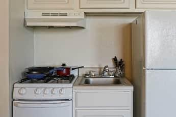 Kitchen, Fairmont Towers, 1