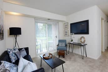 Living Room, Woodsdale Apartments, 0