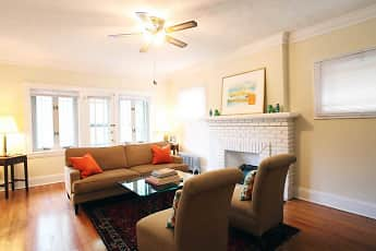 Living Room, Lewis Manor & Mapleview Apartments, 0