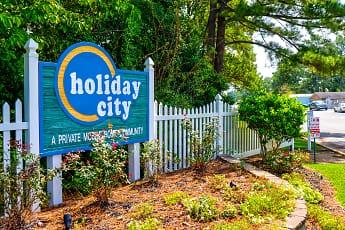 Community Signage, Holiday City, 1