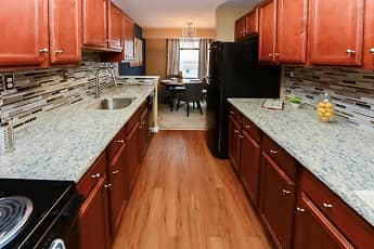 Kitchen, Montgomery Manor Apartments & Townhomes, 1