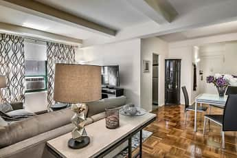 Living Room, Parkchester Apartments, 1