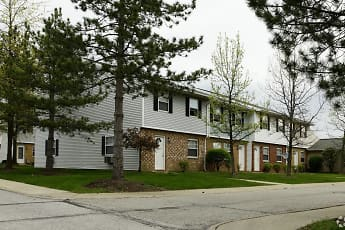 Building, Colony Club Apartments And Townhomes, 1