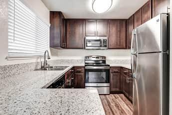 Kitchen, Spring Club Apartments, 0