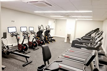 Fitness Weight Room, The Washington at Chatham, 2