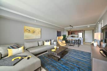 Living Room, Prosperity Flats, 0