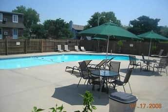 Pool, Clairborne Court Apartments, 0
