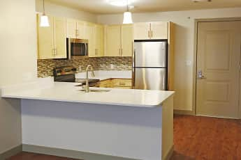 Kitchen, Mt. Hope Lofts At College Town, 1