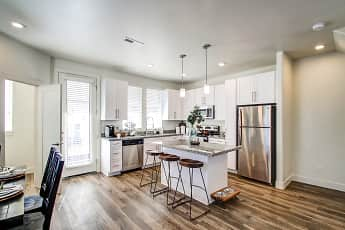 Kitchen, Aero Luxury Townhomes, 1