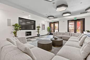 Living Room, San Pedro Bank Lofts, 1