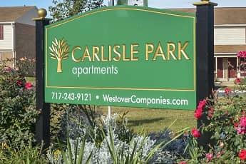Community Signage, Carlisle Park Apartments, 0