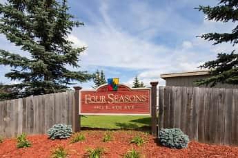 Community Signage, Four Seasons Apartments, 2