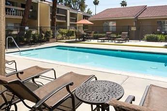 Pool, eaves San Dimas Canyon, 0