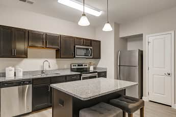 Kitchen, Loftin at Montcross Senior Apartments, 1