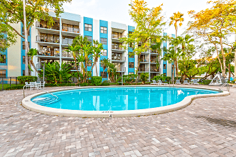 Pool, Biscayne Apartments, 0