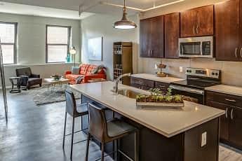 Kitchen, Crane Factory Flats, 0