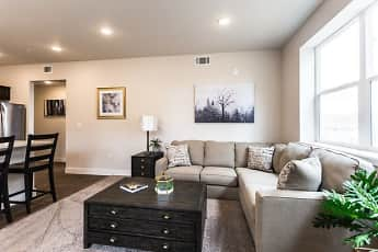 Living Room, Bucking Horse Apartments, 2