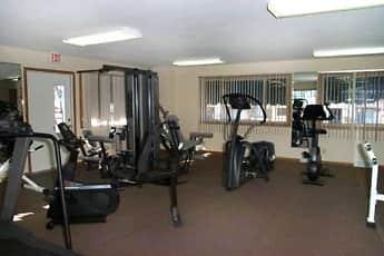 Fitness Weight Room, Shagbark Apartments, 1