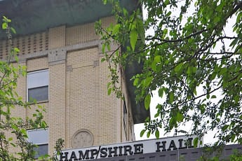 Community Signage, Hampshire Hall, 2